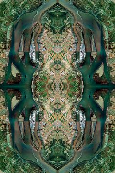 David Thomas Smith is a Dublin based, Irish artist who created Anthropocene, a series of large kaleidoscope photomontages out of aerial images and many layers of digital art ~ Photography Series, Aerial Photography, Landscape Photography, Landscape Photos, Scenic Photography, Night Photography, Amazing Photography, Thomas Smith, David Smith