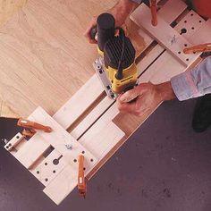 Fail-Safe Router Jig Woodworking Plan, Workshop & Jigs Jigs & Fixtures