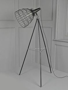 House of Fraser Cage Tripod Floor Lamp