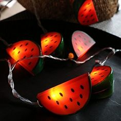 Christmas Deals, Christmas Holidays, Best Seasons, Led String Lights, Holiday Lights, Hygge, Watermelon, Charger, Kids Room