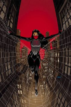 Loads of goodies from Marvel next week including the launch of Silk as well as the latest Ms. Marvel, Uncanny X-Men, and Black Widow to keep you entertained. Marvel Comics, Ms Marvel, Heros Comics, Silk Marvel, Marvel Girls, Comics Girls, Marvel Art, Marvel Heroes, Punisher Marvel