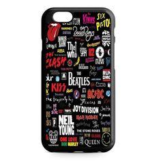 The Beatles Nirvana Led Zeppelin Band iPhone 7