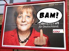 Erste Reaktionen der Kanzlerin zur Bundestagswahl 2013