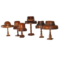 Vintage Hat Blocks