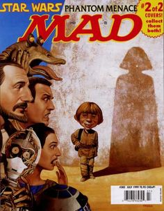 Mad Star Wars Covers - Mad Star Wars: Phantom Menace (2 of 2)