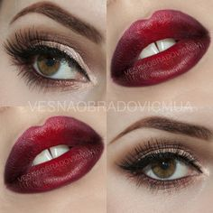 MAC Russian Red with copper eyes ,vesnamua