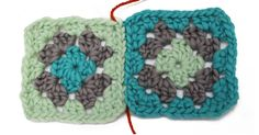 How-To: Invisibly Seam Granny Squares