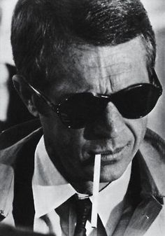 F&O Fabforgottennobility — photo-reactive: Steve McQueen Hollywood Stars, Old Hollywood, Steeve Mcqueen, Steve Mcqueen Style, People Smoking, Movie Stars, Actors & Actresses, Hollywood Actresses, Sunnies