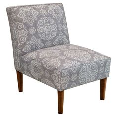 Finish your living room, den, or master suite decor with the natural-chic style of this lovely design.  Product: Chair