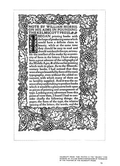 The Art of the Book.  - first pub. 1904 - William Morrison sample