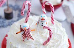 Snowman cake recipe - goodtoknow