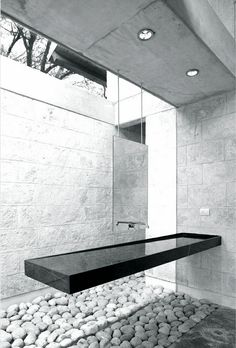 casa-uro - floating vanity