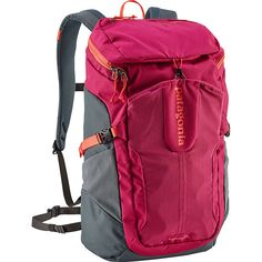 Patagonia Petrolia Pack 28L - Craft Pink - Laptop Backpacks ($99) ❤ liked on Polyvore featuring accessories, tech accessories, pink and patagonia