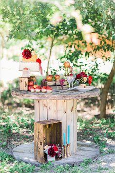 dessert table idea @weddingchicks