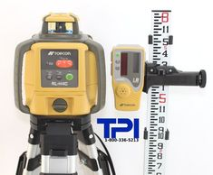 http://homeimprovementtools.info/topcon-rl-h4c-rotary-laser-kit-includes-rl-h4c-self-leveling-rotary-laser-aluminum-flat-head-tripod-and-8ft-aluminum-grade-rod/- Topcon RL-H4C is a perfect choice for general construction agricultural leveling and manual slope tasks. Topcon RL-H4C sets the new