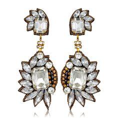 Suzanna Dai Chrysler Fan Drop Earrings at HAUTEheadquarters.com