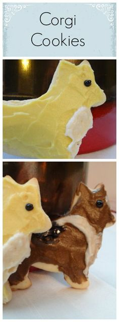 Corgi Christmas Cookies: Make them and give as gifts!