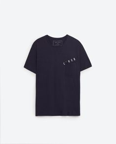 Image 6 of TEXT T-SHIRT from Zara