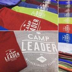 It's been a while since our last post, a nice colourful job to get us back into it! #camping #screenprinting #colourful