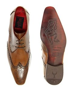 Enlarge Jeffery West Brogued Gibson Shoes
