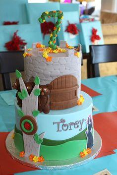 Gorgeous BRAVE party cake #braveparty #cake