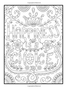Coloring Books for Stress Relief - 20 Coloring Books for Stress Relief , Stress Relief Coloring Pages to Help You Find Your Zen Again Summer Coloring Pages, Quote Coloring Pages, Printable Adult Coloring Pages, Free Coloring Pages, Coloring Books, Coloring Sheets, Color Quotes, Doodle Coloring, Mandala Art