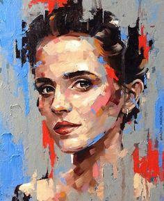 Portraits peinture contemporaine