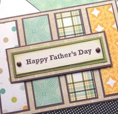 Father's Day Card  This layout could be used for any occasion.
