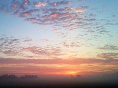 Sunrise near Owensboro KY 08152014