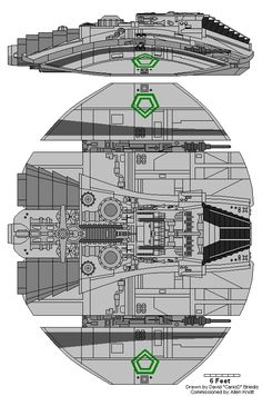 Original Cylon Raider illustration