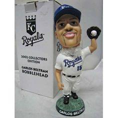 Kansas City  Royals 2002 Collector's Edition Carlos Beltran Bobblehead, MIB