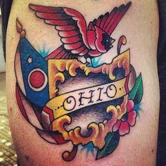 Tats on pinterest ohio tattoo sleeve tattoos and for Tattoo columbus ohio