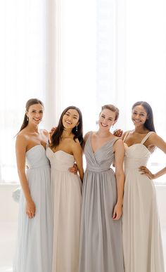 @watterswtoo Fun, flirty, and oh-so-girly! Fall in love with neutral mix and match dresses