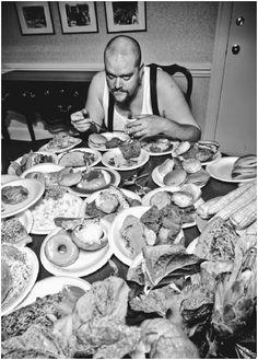 Gluttony, by J.R. Rotting