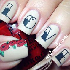 Love Nails - Happy Valentine's Day!!