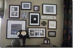 Frames, letter