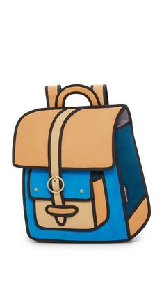 Jump From Paper Traveler Backpack