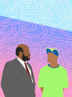 Judge Phillip Banks and Will Fresh Prince