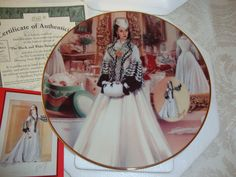Decorative Plate Gone With the Wind 'The by WintervilleWonders