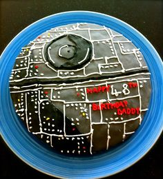 A Death Star cake that I made for my dad's 48th a couple of years ago! A bit of a faff but I think it turned out really great.