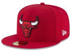 Chicago Bulls New Era NBA Solid Team 59FIFTY Cap