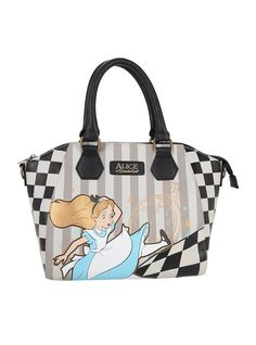 e6a7918313 Disney Alice in Wonderland floral print bag by Loungefly. Comes in ...