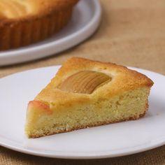 Honey-Glazed German Apple Cake Recipe by Tasty Apple Cake Recipes, Dessert Recipes, Desserts, Apple Cakes, Cookie Recipes, Apple Tart Recipe, German Apple Cake, Pear Cake, Honey Glaze
