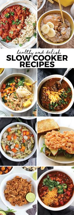 Looking for a quick an easy way to make any meal of the day? Here are some of our favorite healthy slow cooker recipes that you need to make this year!
