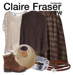 Inspired by Caitriona Balfe as Claire Fraser on Outlander. Tv Show Outfits, Chic Outfits, Inspired Outfits, Retro Fashion, Vintage Fashion, Women's Fashion, Librarian Style, Victoria Fashion, Mode Plus