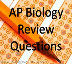AP Biology- Ecology Review Questions