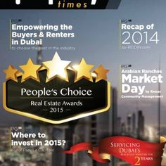 ///// Issue 25 - December 2014 Property Search just got better... Dubai's 2Years Servicing real estate industry for PG20 PG08 PG26 PG36 Where to invest in 2. http://slidehot.com/resources/property-times-emagazine-december-2014.41261/