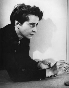 Hannah Arendt by Fred Stein, 1944