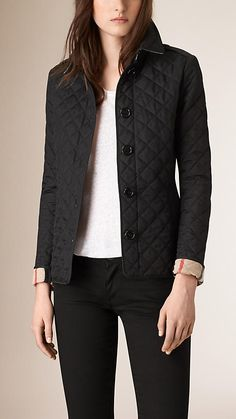 A quilted rain jacket. This Burberry version is a classic and a great investment. I've had mine for over 10 years and it still looks brand new. It's also perfect to travel with - throw it in a bag and it doesn't wrinkle. Burberry Diamond Quilted Jacket