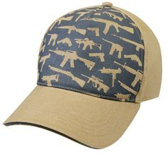 Military Hats Rifles Graphic Baseball Cap Headwear $9.03